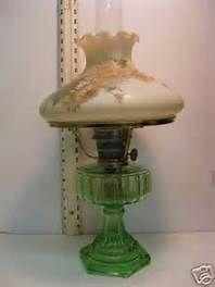 vintage oil lamps antiques - Bing images