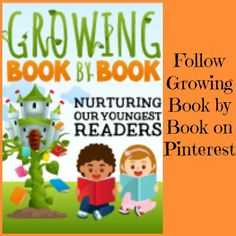 Are you following Growing Book by Book on Pinterest?  You'll find boards for literacy, just right reading spots, puppet shows, yummy stories for kids and more! growingbookbybook.com