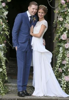 Millie Mackintosh marries Pro Green in a £4000 vintage style Alice Temperley gown