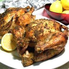 Lemon and herb roast chicken @ allrecipes.co.uk