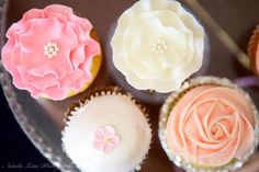 Ladies Vintage High Tea - beautiful cupcakes