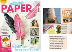 PaperPhine in Print: Made in Paper (08 2016)