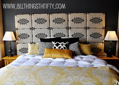 do it yourself headboards ideas | 12 stylish do-it-yourself headboard ideas | HellaWella    http://www.allthingsthrifty.com