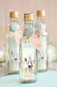 Style Your Soirée Labels Wedding Guest Gifts Favours For Destination