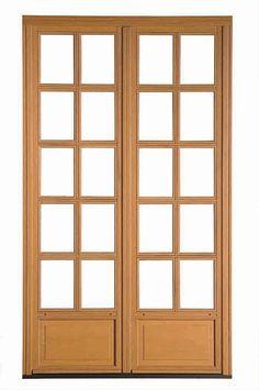 1000 images about puertas de madera y vidrio on pinterest for Puertas madera vidrio para interior