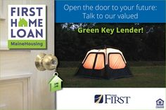 We'd like to introduce you to today's Green Key Lender: The First, N.A.! Ask The First, N.A. about MaineHousing's First Home Loan with $3,500 towards down payment and closing costs. Visit mainehousing.org/mainehousing-lenders ‪#‎firsttimehomebuyers‬ ‪#‎firsthomeloan‬ ‪#‎greenkeylenders‬