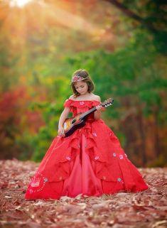 Elena of Avalor Dress Pre Order by EllaDynae on Etsy Elena Of Avalor Dress, Princess Elena Of Avalor, Style Floral, Disney Princess Dresses, Cute Baby Girl, The Dress, Models, Designer Dresses, Ball Gowns