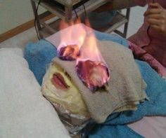 Fire Facials – Setting Your Face on Fire in the Name of Beauty - http://www.weirdlife.com/fire-facials-setting-your-face-on-fire-in-the-name-of-beauty/