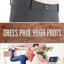 Every woman's dream:  wear yoga pants to work!  Dress Pant Yoga Pants | Women's Yoga Pants | Betabrand