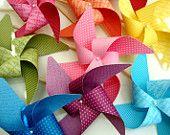 Pinwheels YOU PICK the COLORS set of 8 Large pinwheels