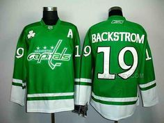 http://www.xjersey.com/capitals-19-backstrom-green-stpatricks-day-jerseys.html CAPITALS 19 BACKSTROM GREEN ST.PATRICKS DAY JERSEYS Only $46.00 , Free Shipping!