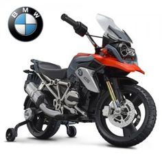 Premium BMW Kids Ride On Motorbike If you are looking for the latest in kids electric motorbikes then the Licensed BMW GS Kids Electric Ride On Motorbike certainly makes the grade Bobbers, Cafe Racers, Choppers, Sally Halloween Costume, Power Wheels, Kids Ride On, Baby Supplies, Custom Motorcycles, Motorbikes