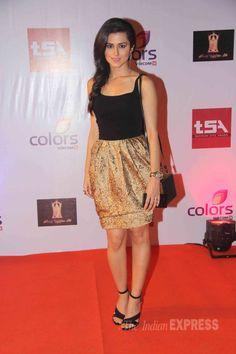 Shilpa Shetty, Kalki Koechlin, Karishma Tanna, Upen Patel attend TV Awards in style