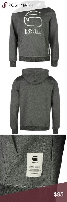 G Star Vasif Hoodie Men's Size - Medium  Color - Grey Condition - Brand New w/ Tags  Retail - $120 Location - Harlem , NYC G-Star Sweaters