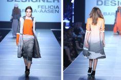 emerging designer Felicia Barth-Aasen with lake placid inspired mountain prints at Charleston Fashion Week via gemsounds.com