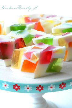 galaretka Ice Cream Recipes, Watermelon, Panna Cotta, Fruit, Health, Ethnic Recipes, Advice, Food, Juices