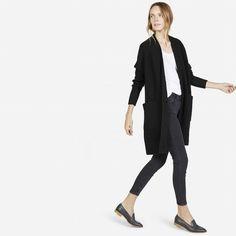 cardigan coat / everlane