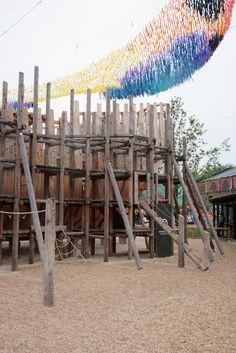 Детская площадка Фрегат в Новой Голландии