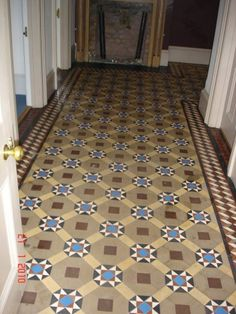 victorian tiling browns - Google Search