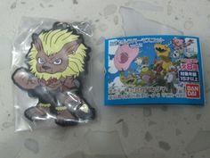 Leomon Rubber Trading Strap Keychain Keyring Toy Charm Digimon Adventure 02 tri.