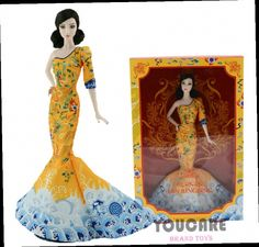 44.19$  Watch now - http://aliban.worldwells.pw/go.php?t=32658143750 - UCanaan Original Brand Collector Fan Bingbing Doll BCP97 Celebrity Doll Child Toys Best Firend Play with Girl 44.19$