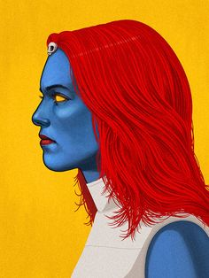 Mystique by Mike Mitchell
