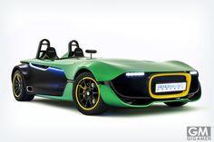 ケータハム(Caterham)の新型スポーツカー「エアロセブン (AeroSeven)」が凄い