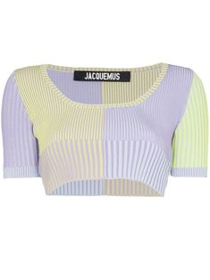 Check out Jacquemus with over 2 items in stock. Shop Jacquemus La Maille Yauco ribbed cropped top today with fast Australia delivery and free returns. Pretty Outfits, Cool Outfits, Summer Outfits, Fashionable Outfits, Summer Shorts, Kpop Fashion Outfits, Stage Outfits, Fashion Clothes, Look Fashion