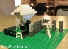 Lego Fun Friday:  Build a Landmark Building Challenge from Frugal Fun for Boys
