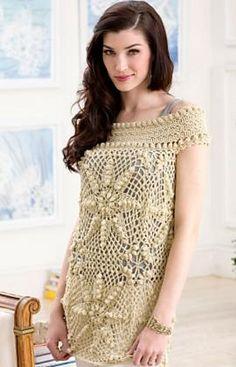 Free Elizabeth Tunic pattern by Josie Rabier