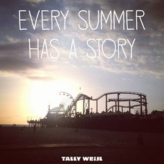 this summer is going to have a great story, i just have to let God write it