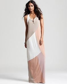DESIRE - I <3 this dress...I could live in this dress. CHASER Dress - Patchwork Maxi Dress | Bloomingdale's