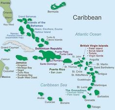 Caribbean Honeymoon Resort Map