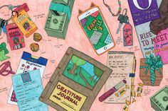 Oprah Winfrey - SEE ILLUSTRATIONS FROM ABBI JACOBSON'S NEW BOOK CARRY THIS BOOK