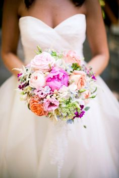 Love this multi-color bouquet!
