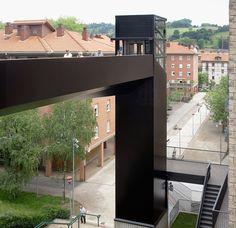 vaumm architects LBBU footbridge hernani spain designboom