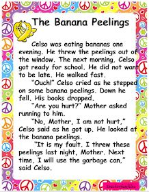 English Reading passages containing basic sight words for your kids reading practice and remedial reading activity. Passages include: A R. Small English Story, English Stories For Kids, Learning English For Kids, Learn English Words, Reading Comprehension Worksheets, Reading Fluency, Reading Passages, Plurals Worksheets, Reading Practice