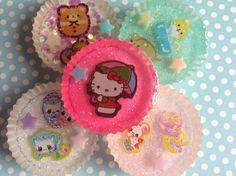 Kawaii Resin Magnets Japanese Kawaii Magnets Resin by ExactNature, $9.00