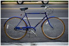 the new old blue bike | Flickr - Photo Sharing!