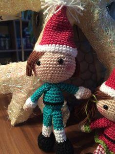 """Weihnachts-Elf ... Anleitung aus dem Buch """" Liebevolle Häkelideen zu Weihnachten"""""""