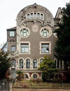 Coburg 1901 Zonhuis (Sun House) #art #Nouveau Germany