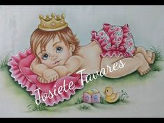 Pintura em Tecido - Pele de Bebê (base, sombras, luzes) - YouTube