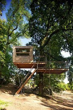A Baumraum Treehouse/Tiny Guest House in Prague