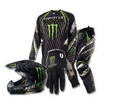 Monster Dirtbike Gear--Ricky!!!