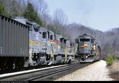 RailPictures.Net Photo: SBD 8600 Seaboard System EMD SD50 at Slant, Virginia by Ron Flanary