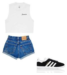 """Untitled #31"" by avakitchen on Polyvore featuring Billabong and adidas"