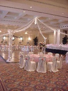 Beautiful decor for Quinceañeras