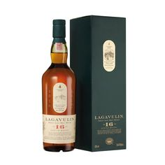 Islay Single Malt Scotch Whisky 16 years, Lagavulin, Scotland.