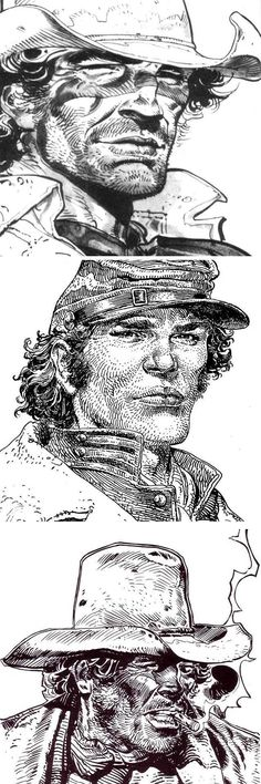 Moebius - Imgur Jean Giraud, Comic Book Artists, Comic Artist, Comic Books Art, Comics Vintage, Moebius Art, Western Comics, Bd Comics, Comic Styles