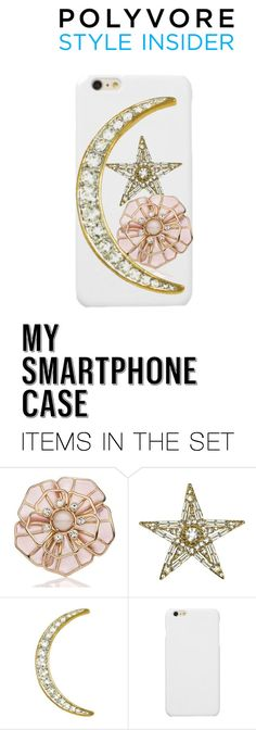 """#MySmart moon , star and flower"" by victoria-murray-1 ❤ liked on Polyvore featuring art, contestentry and PVStyleInsiderContest"